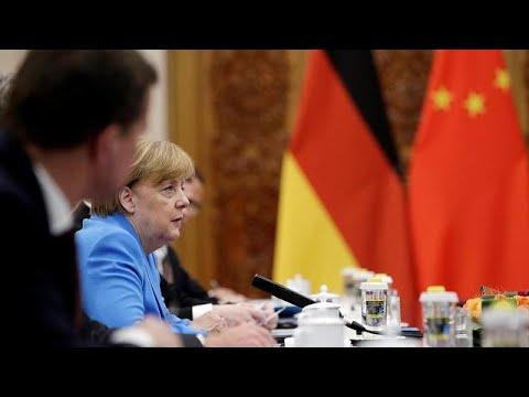 Merkel und Li Keqiang wollen an Iran-Atomabkommen fes ...