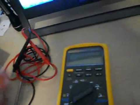 How to Fluke 87 Digital Multimeter fuse replacement and fuse test