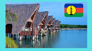 Kuendu Beach and bungalows on stilts, Noumea (NEW CALEDONIA): Here are beautiful scenes and views of this easy to get to beach, located just outside ...