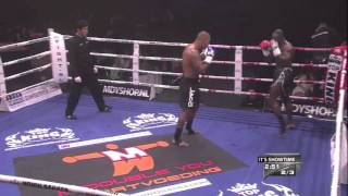 Tyrone Spong: Right Low-Kick
