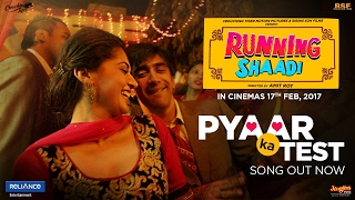 Pyaar Ka Test | Official Video | Running Shaadi | Bappi Lahiri | Taapsee Pannu | Amit Sadh