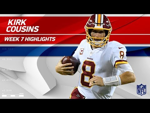 Video: Kirk Cousins Tosses 303 Yards & 3 TDs vs. Philly! | Redskins vs. Eagles | Wk 7 Player Highlights