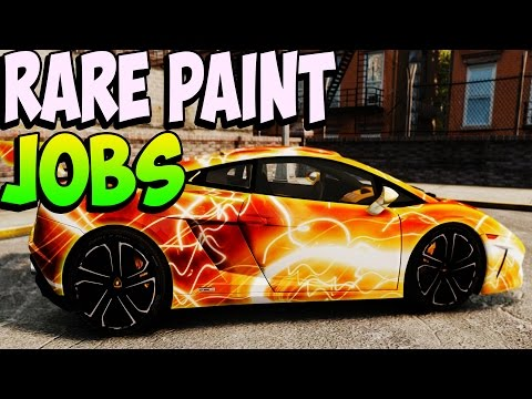 GTA 5 Rare Paint Jobs Online – Purple Crush, Ocean Blue, Cotton Candy – GTA 5 Secret Paint Jobs