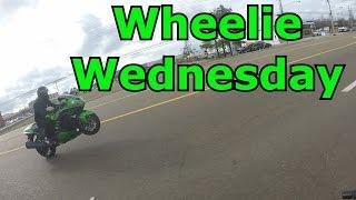 7. 2016 ZX14 Vs 2012 ZX10r | Wheelie Wednesday