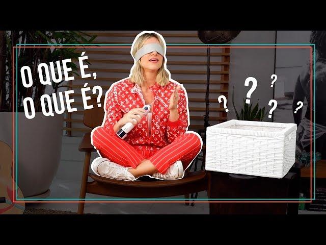 GIO EWBANK EM NOVO DESAFIO DOS OBJETOS | GIOH - Giovanna Ewbank