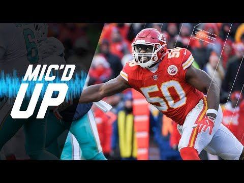 Video: Justin Houston Mic'd Up vs. Dolphins