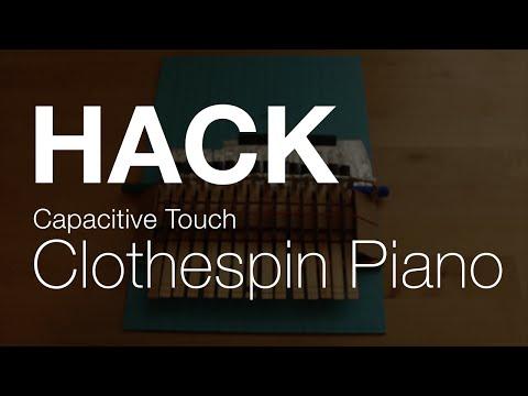 Сделай сам: пианино из iPad и прищепок