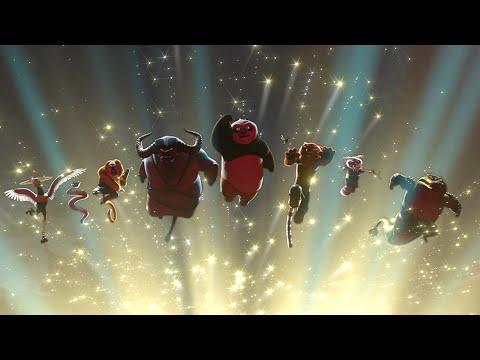 Kung Fu Panda 2 - Battle of Gongmen City [1/2]
