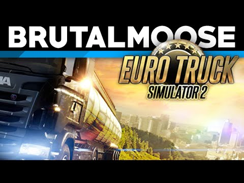 euro - Driving a truck. Driving a big 'ol truck. ♥ You should subscribe! » http://tinyurl.com/itsmoosetime ♥ Become a Patron » http://www.patreon.com/brutalmoose Visit our website! » http://hidde...