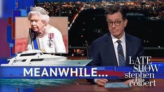Meanwhile... Queen Elizabeth's Swanky Escape Plan