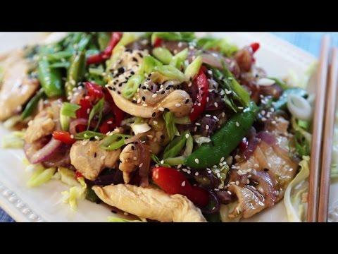 Chicken Recipes – How to Make Garlic Chicken Stir Fry