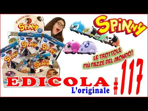 EDICOLA #117: SPINNY Le trottole PAZZE Apriamo insieme PACCO da 20 BUSTINE (by Giulia Guerra) (видео)