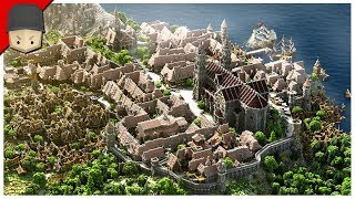 Is This Really Minecraft?! Medieval City + Download