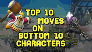 Video Top 10 Moves on Bottom 10 Characters (Smash 4) MP3, 3GP, MP4, WEBM, AVI, FLV September 2018