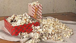 Festive Popcorn Recipe | Episode 1213 by Laura in the Kitchen