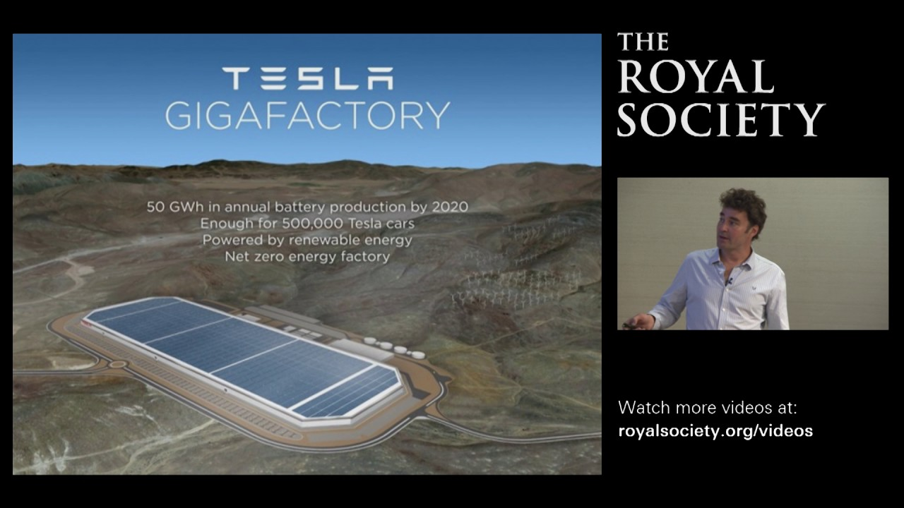 Photovoltaic solar energy – Kavli Lecture by Professor Henry Snaith