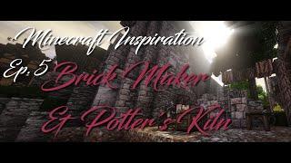Minecraft Inspiration: Brick Maker & Potter's Kiln