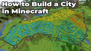 How to build an Awesome City in Minecraft 1 14 Vanilla WORLD DOWNLOAD