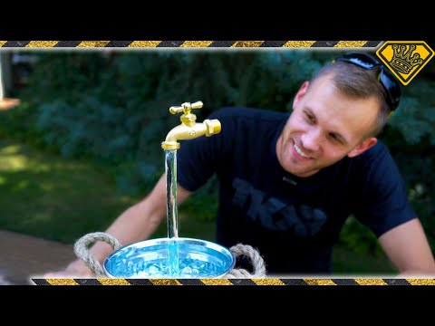 How To Make A FLOATING Fountain