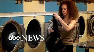 What Would You Do: Woman steals laundry at a laundromat