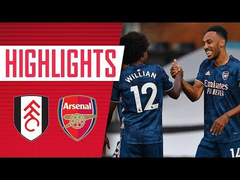 HIGHLIGHTS   Fulham vs Arsenal (0-3)   Willian, Gabriel impress on debuts