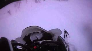 10. 2007 & 2008 Polaris RMK 600 HO 144 in Swedish powder. Contour HD helmet cam. vol 3