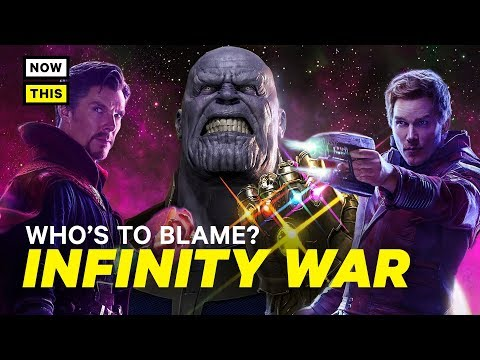 Who's to Blame for the Infinity War Ending? (SPOILERS)   NowThis Nerd