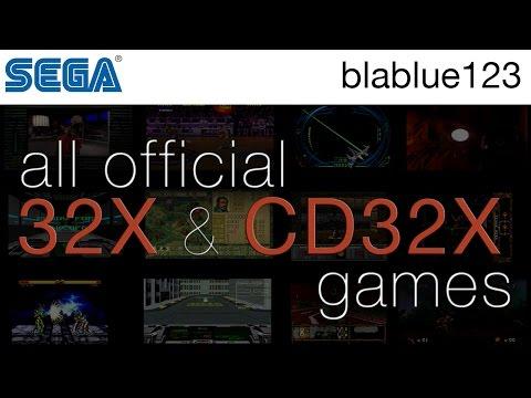 All Official SEGA 32X & CD32X Games