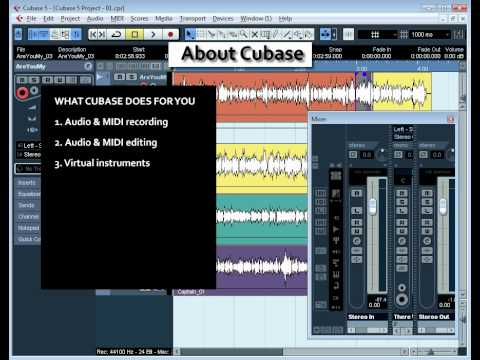Cubase 5 Video Tutorial – All About Cubase (02)