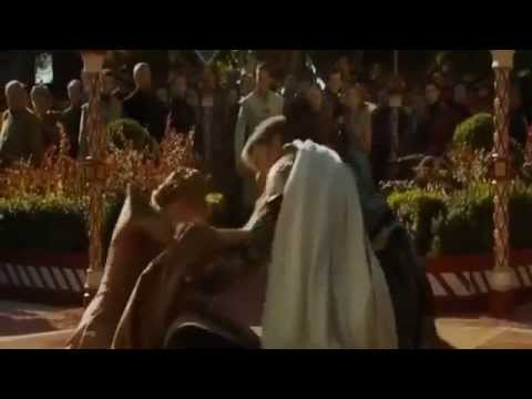 Joffrey Death scene - Game of thrones (S4 E02)