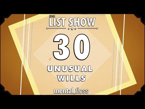 30 Unusual Wills