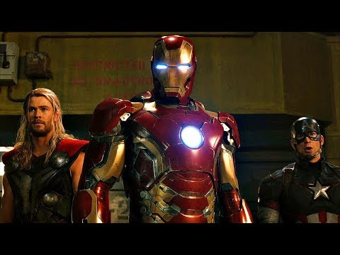 Avengers vs Ultron Fight Scene - Avengers: Age of Ultron - Movie CLIP HD