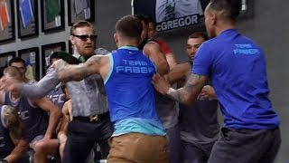 Video Conor McGregor and Cody Garbrandt nearly ignite a brawl MP3, 3GP, MP4, WEBM, AVI, FLV Oktober 2018