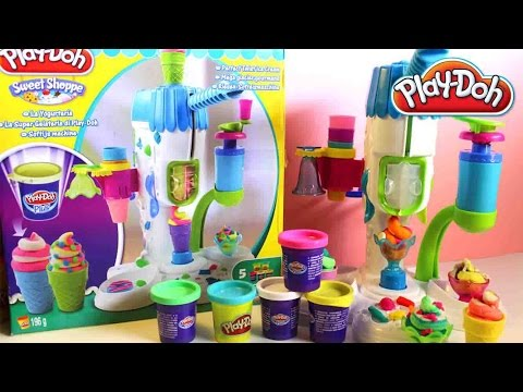 cream - Awesome Play Doh Sweet Shoppe Perfect Twist Ice Cream Playset Unboxing Play-Doh Hasbro Toys Review ✿◕ ‿ ◕✿ Disney Princess Belle Princess Fashion Set Belle Mini Doll Clothing Shoes...