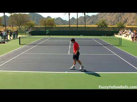 Janko Tipsarevic en el Indian Wells 2009