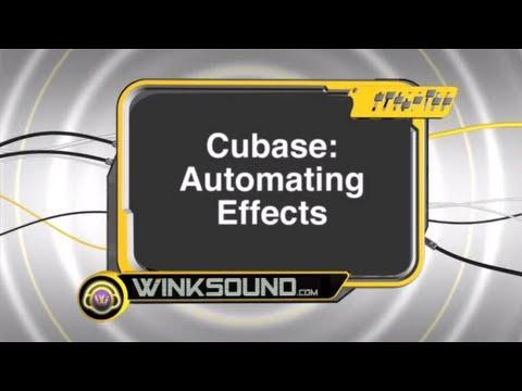 Cubase: Automating Effects | WinkSound