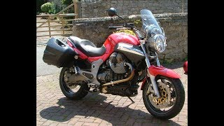 6. Moto Guzzi Breva 1100 exhaust sound and fly by compilation