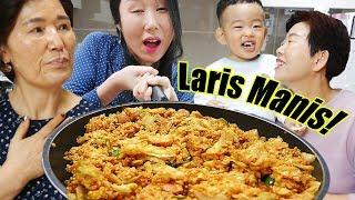 Download Video Bagi nasi goreng Jumbo sama tetangga Korea! MP3 3GP MP4
