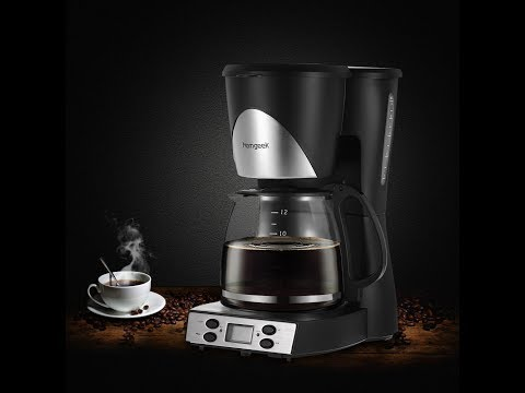 Homgeek 12-Cup Digital Coffee Maker Review