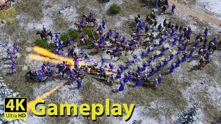 Age of Empires 3 - 4K GAMEPLAY Video