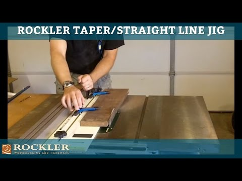 Rockler Taper/Straight Line Jig