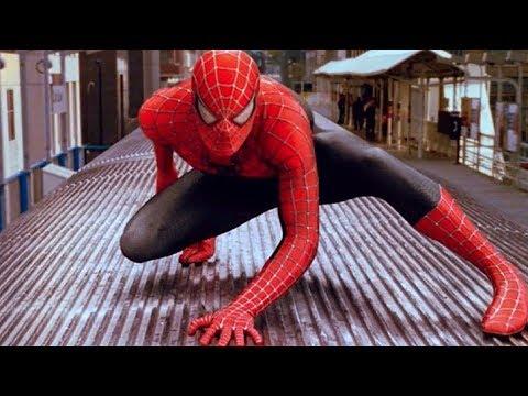 Spider-Man vs Doctor Octopus - Train Fight Scene - Spider-Man 2 (2004) Movie CLIP HD