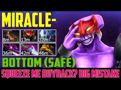 Miracle Faceless Void | Squeeze me Buyback? Big mistake | Dota 2 Gameplay 2017
