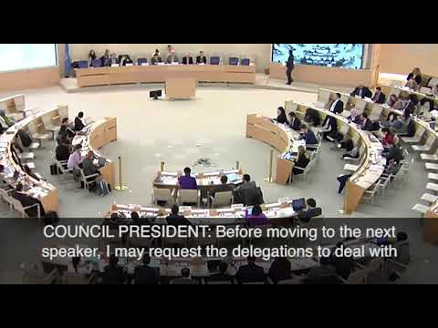 Anne Bayefsky in the Lion's Den, The UN 'Human Rights' Council, 3/20/18