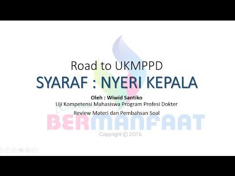 Pembahasan Soal UKMPPD Syaraf - Wiwid Santiko