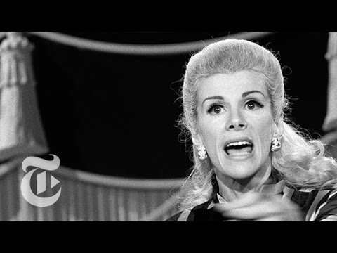 Joan Rivers%3A Stand-Up Pioneer Dead at 81 - Fifty Years of Funny %7C The New York Times