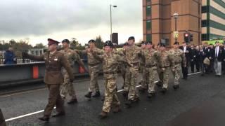 Remembrance Day Parade Bridgend 2015