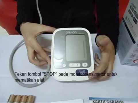 Cara Pakai Tensimeter Digital Omron HEM 7130 yang baik dan benar