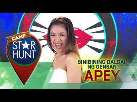 Camp Star Hunt: Apey - Binibining Daldal ng Gensan