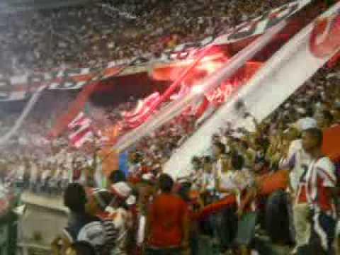 FRBS-SALIDA CON POLVORA - Frente Rojiblanco Sur - Junior de Barranquilla